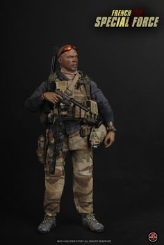 Product Announcement [soldierstory]FRENCH SPECIAL FORCE - OSW: One Sixth Warrior Forum