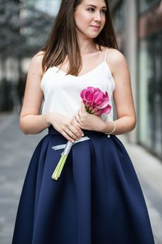 Welcome to your feminine style haven! Whether you are looking for perfect everyday tulle skirt, gorgeous tutu, or formal neoprene skirt - we have them all. Chiffon Skirt, Classy And Fabulous, Cami Tops, Feminine Style, Tutu, Ivory, Pure Products, Formal, Skirts
