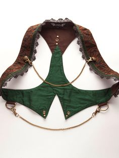 Onyx Waistcoat (sadly a google image search did not throw up a source for this)