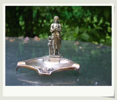 French vintage art deco  joan of arc sculpture by PARISOUIPARIS, $39.00