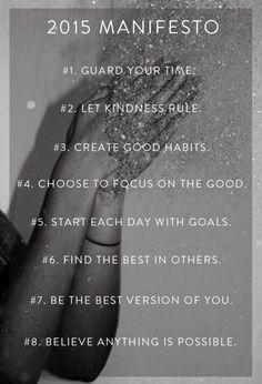 2015 Manifesto