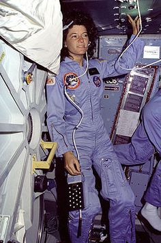 Rest in peace, Sally Ride: physicist, writer, and first American woman to fly in space. #fem2 #stem