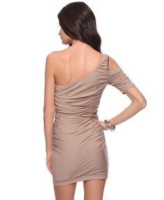 Studded Asymmetrical Dress | FOREVER21 - 2000038446