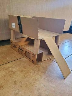 Carboard Box Creations for Kids to Play With - My Bored Toddler