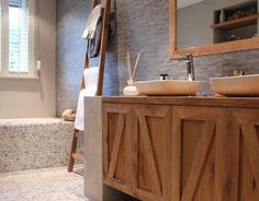 Studio Marijke Schipper: Landelijke badkamer Vanity, Bathroom, Studio, Dressing Tables, Washroom, Powder Room, Vanity Set, Full Bath, Studios