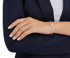 Enlace Bangle - Jewelry - Swarovski Online Shop