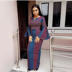Here are some adorable and stunning African ankara gowns that will give you that unique look you deserve for your occasions and special events, these ankara dresses come in different& The post African long ankara gowns appeared first on DarlingNaija. African Fashion Ankara, Latest African Fashion Dresses, African Print Dresses, African Dresses For Women, African Print Fashion, Africa Fashion, African Wear, African Attire, African Style