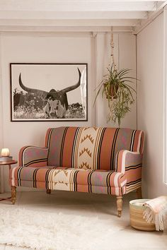 Slide View: 1: Carmen Kilim Sofa