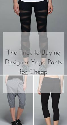 Looking to upgrade your yoga game? Find your favorite brands, such as Lululemon, Nike, and much more, at discounts up to 70% off retail on the FREE Poshmark app. Click the image above to download and start shopping now. As seen on Good Morning America, and The New York Times.