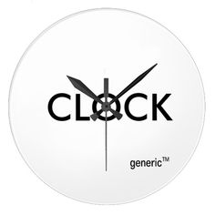 from genericTM! Just a clock. Even says so right on it. Entirely without. Not even a little. Just it. Nothing more.