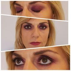 She Ofelia Kumru Smoky Eyes Berenjena Make Up Be Me (facebook Monica Asesoria de Imagen y Mas ) #kryolan #makeup #beauty  #creamliner #aubergine #ebony