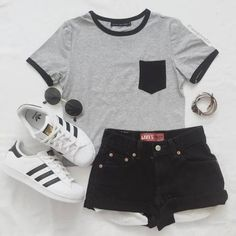 Cute Casual Summer Date Outfits either Womens Clothes Online Larger Sizes among Cute Summer Outfits For School past Cute Outfits For Hard Summer long Women's Clothing Size Chart By Weight Cute Swag Outfits, Cute Comfy Outfits, Cute Outfits For School, Cute Summer Outfits, Pretty Outfits, Stylish Outfits, Teenage Girl Outfits, Teen Fashion Outfits, Outfits For Teens