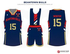 Basketball Uniform Designs — Wooter Apparel  3a4c58d74297