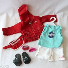 American girl #retired chrissa warm-up set complete 8-piece #outfit free #shippin,  View more on the LINK: http://www.zeppy.io/product/gb/2/121955465644/