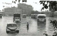 Москва. 1965. Самотёчная площадь.