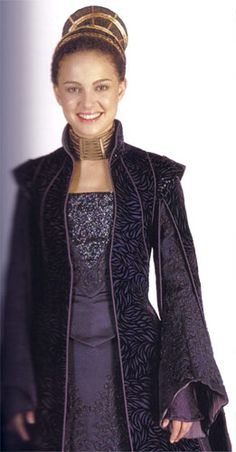 PADME AMIDALA PURPLE SENATORIAL GOWN tutorial