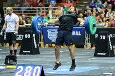 Rich Froning doing hang squat snatch with 280 lb! Crossfit Games 2014, Rich Froning, Squats, Gym Equipment, Exercise, Ejercicio, Squat, Excercise, Work Outs