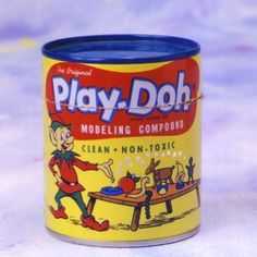 I love Play-Doh! The smell sends me back to my childhood!