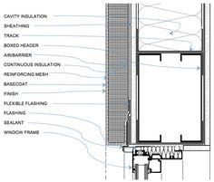 EIFS - WINDOW HEAD DETAIL