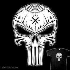 Dia del Vigilante Muerto #comic #comics #dayofthedead #diadelosmuertos #film #marvelcomics #mistyk #movie #punisher #skull #sugarskull