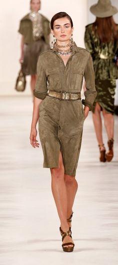 NY: Ralph Lauren - Runway - Mercedes-Benz Fashion Week Spring 2015
