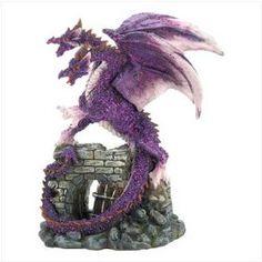 Amethyst Dragon Figurine - Style 39821,List Price: $12.99   Price: $8.45