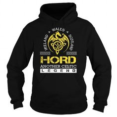 awesome HORD Legend - HORD Last Name, Surname T-Shirt