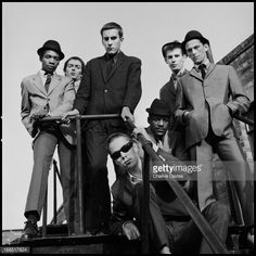 English ska revival band The Specials photographed on the roof of the. Ska Music, Music Music, Terry Hall, Punk Poster, The Special One, Northern Soul, Iconic Photos, Concert Posters, Music Posters