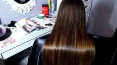 Преображение волос после кератинового выпрямление COFFEE PREMIUM #honmat...