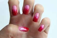 tutorial - ombre nails