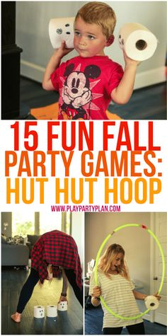 These fall games are perfect for kids