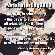 <3 I HAD ARIANATOR ALL OVER MY WRIST XD xxx