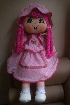 muñecas de trapo - Pesquisa Google Doll Patterns, Sewing Patterns, Doll Eyes, Raggedy Ann, Cute Dolls, Baby Dolls, Harajuku, Sewing Projects, Creative