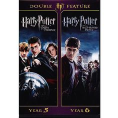 Harry Potter movies, years 5-6