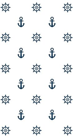 wallpaper and anchor image Anchor Pattern, Pattern Art, Print Patterns, Anchor Wallpaper, Nautical Wallpaper, Anchor Background, Paper Background, Nautical Background, Computer Wallpaper