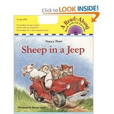 Sheep in a Jeep by Nancy E. Shaw - Sheep - Sheep in a Jeep by Nancy E. Kid Paddle, Best Toddler Books, Force And Motion, Phonological Awareness, This Is A Book, Thing 1, Book Activities, Preschool Books, Kindergarten Science