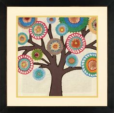 Dimensions Crafts - Tree Crewel Embroidery Kit # 72-73729
