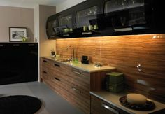 cabinets in black kitchen design ideas
