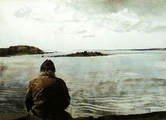 """Andrew Wyeth paintings display one after the other in this video, while the song """"Sempre e per Sempre"""" is sung by Francesco de Gregori. I love this Italian song even more than the art. Andrew Wyeth Prints, Andrew Wyeth Paintings, Andrew Wyeth Art, Jamie Wyeth, Wyeth Blue, Nc Wyeth, Klimt, Art Plastique, Caravaggio"""