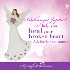 Call on Archangel Jophiel to help you find the beauty in life again.  Archangel Jophiel => http://ow.ly/XR2ve  Angel with Hearts Statue => http://ow.ly/XR2IT