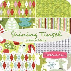 Shining Tinsel Fat Quarter Bundle Maude Asbury for Blend Fabrics - Fat Quarter Shop