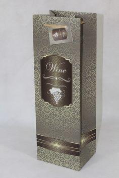 #Geschenktaschen #Geschenktüten Perfume Bottles, Wine, Beauty, Deco, Beauty Illustration