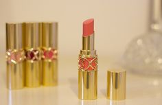 YSL Peach Passion Rouge Volupte lipstick