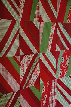 SO cute! Especially for x-mas! Any Way You Slice It pattern by Denyse Schmidt