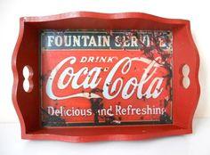 Bandeja Vintage Coca Cola