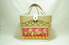 Enid Collins, Carousel canvas bag