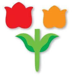 modelo de flores em eva