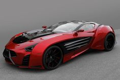 The Laraki Epitome concept car looks like the result of a fever ...