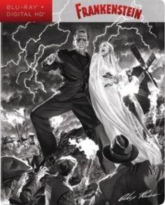 Frankenstein Blu-ray #dvd #bluray #frankenstein #horror #steelbook #collector #geek #movies #film #monster