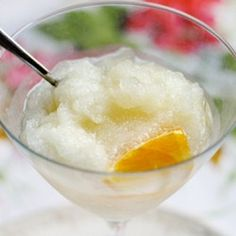 While some may enjoy the taste of straight up spirits, others enjoy sweeter alcoholic treats (booze popsicles or Jell-O shots, maybe). Here's a recipe for an after dinner dessert-drink: Sweet Wine Slushies from The Kitchn. Dessert Drinks, Dessert For Dinner, Fun Drinks, Yummy Drinks, Dessert Wine, Fruit Dessert, Alcoholic Beverages, Cheers, Fruity Wine